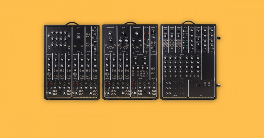 moog announces ultra limited 35 000 modular synthesizer reissue nuevo culture. Black Bedroom Furniture Sets. Home Design Ideas