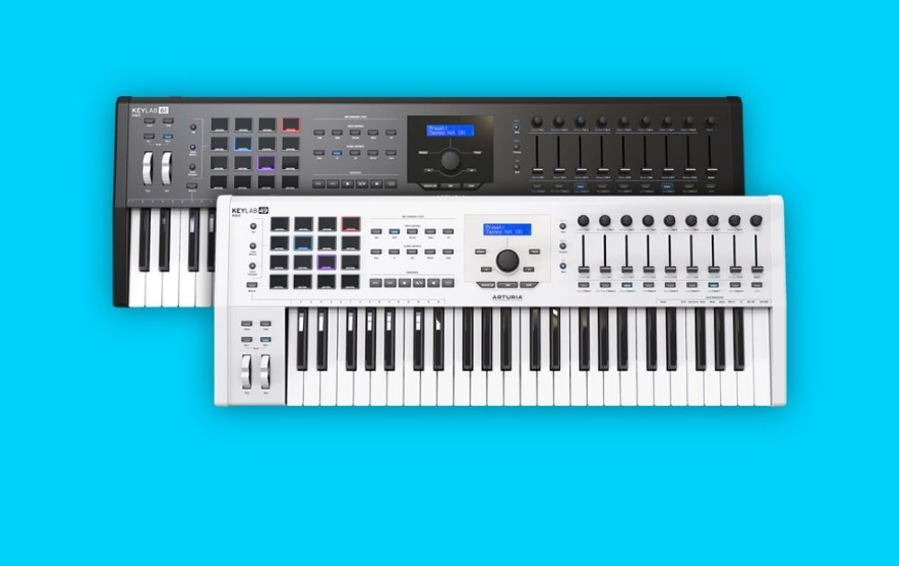 arturia 39 s keylab mkii controllers work with your laptop and modular synth nuevo culture. Black Bedroom Furniture Sets. Home Design Ideas