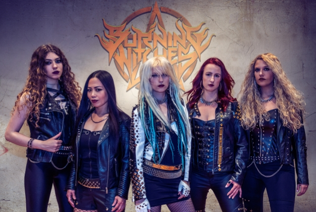 Swiss All Female Heavy Metal Band Burning Witches Unveils Cover Artwork For Hexenhammer Nuevo Culture