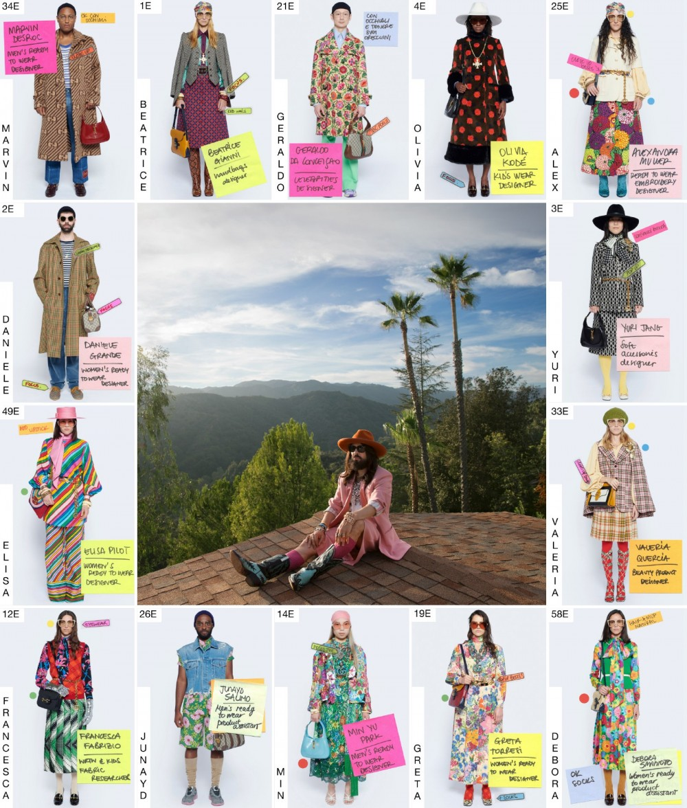 Image may contain Human Person Advertisement Collage Poster Clothing Apparel Tree and Plant