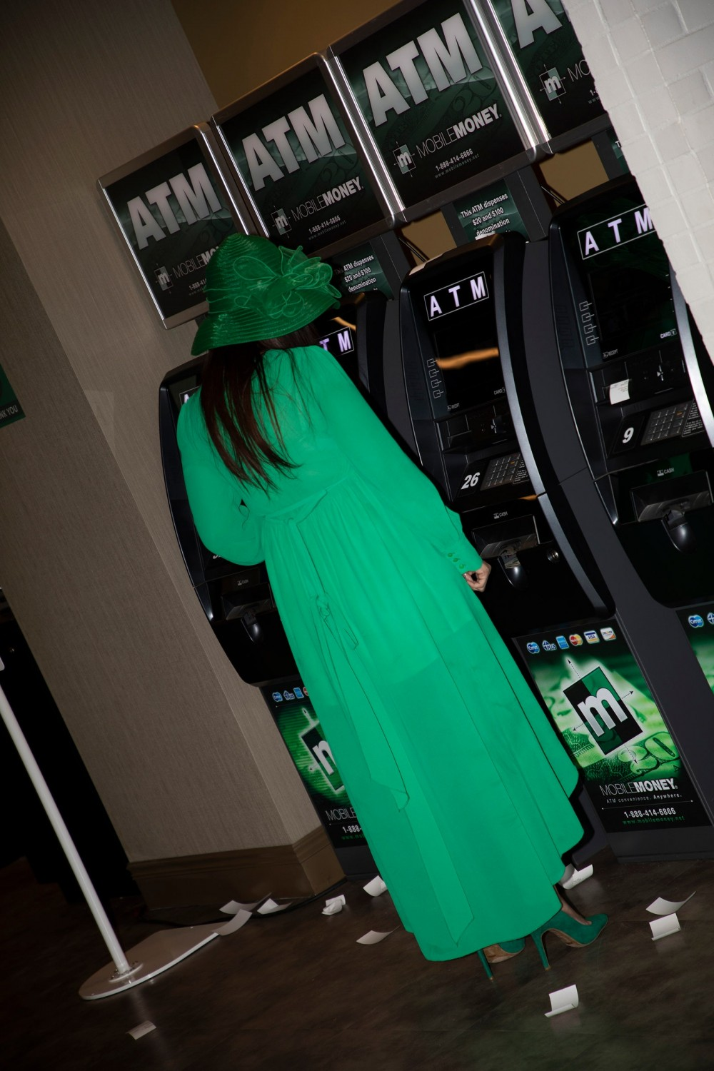 Image may contain Clothing Apparel Evening Dress Fashion Gown Robe Arcade Game Machine Sleeve and Machine